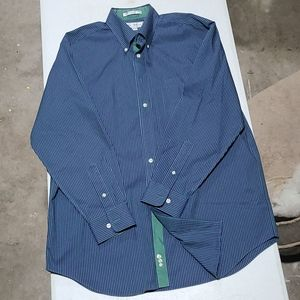 Paul Fredrick Long Sleeve Shirt (B191) - Mens